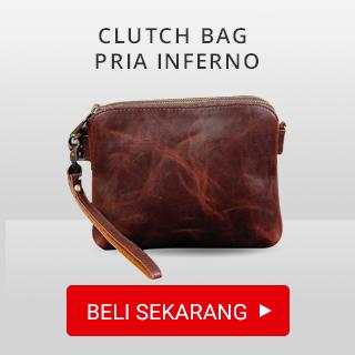 Clutch Bag Pria INFERNO