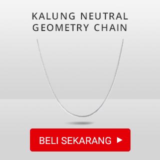 Kalung Rantai Neutral Geometry Chain