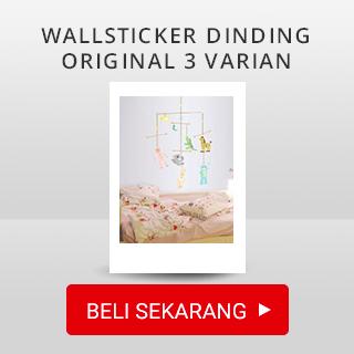 Wallsticker Dinding Original 3 Varian