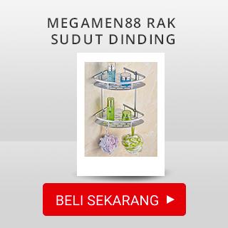 Megamen88 Rak sudut Dinding toilet