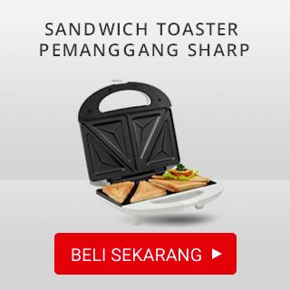 Sandwich Toaster Pemanggang Sharp