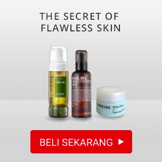 The secret of flawless skin