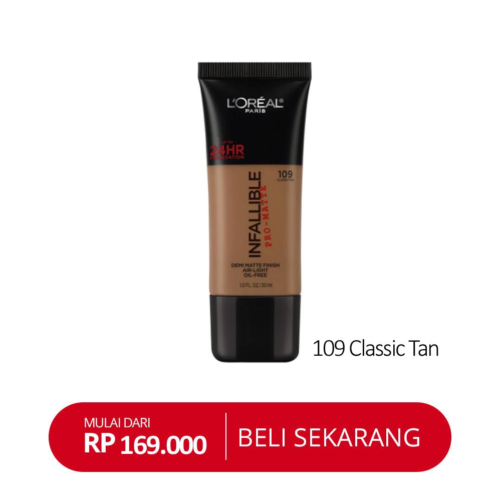 Infallible 109 Classic Tan
